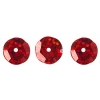 Sequins Round 10mm Aprx 450pcs Hologram Red